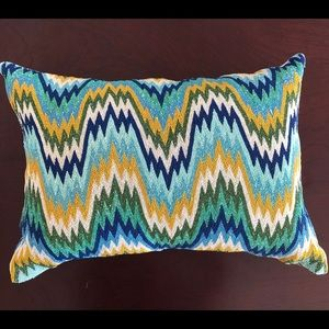 Callisto Home Beaded Lumbar Pillow